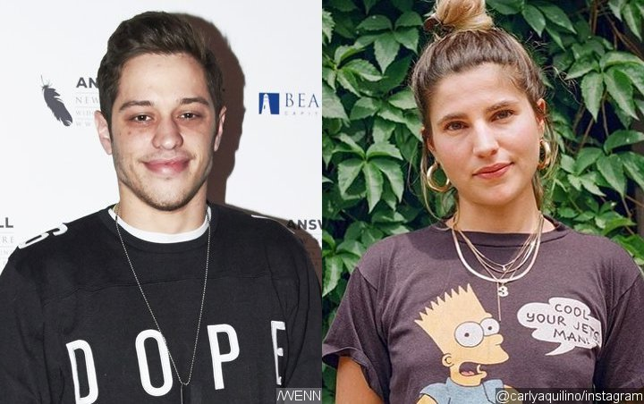 Kate Beckinsale Who? Pete Davidson Hangs Out With Ex-Girlfriend Carly Aquilino