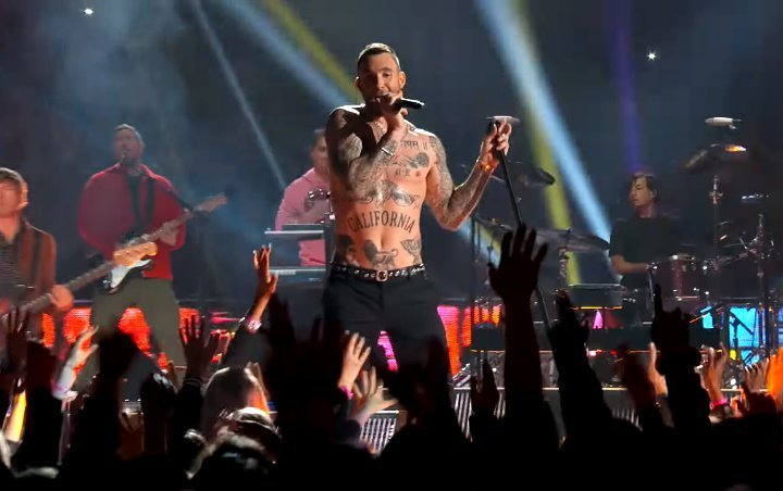 Adam Levine's Shirtless Performance at Super Bowl Draws 50-Plus Formal Complaints
