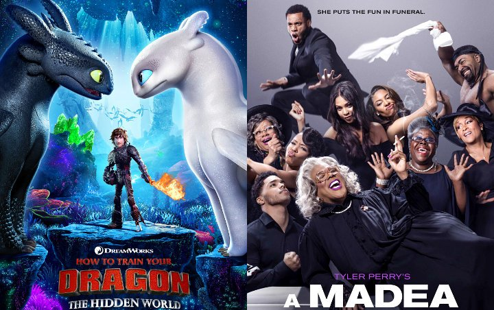 'How to Train Your Dragon 3' Flies Past 'Madea Family Funeral' to Maintain No. 1 at Box Office