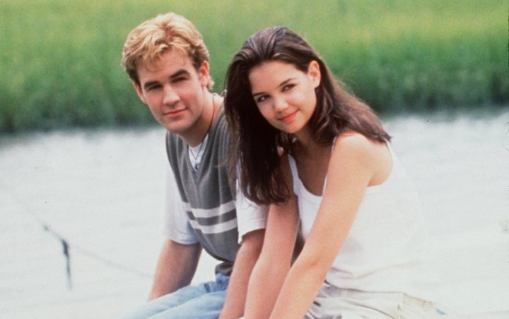 Katie Holmes and James Van Der Beek