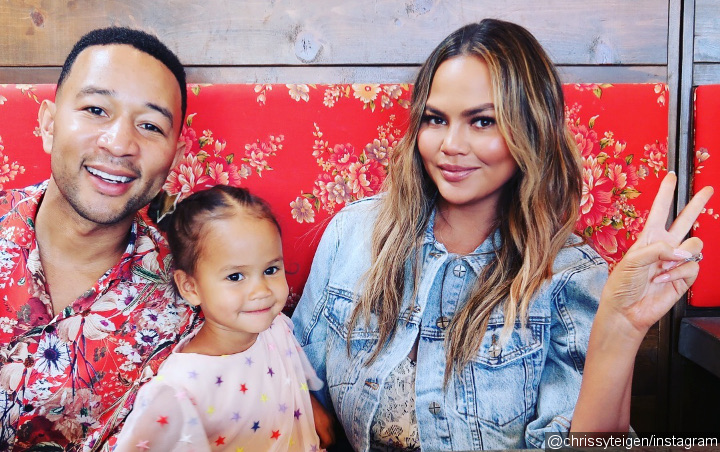 John Legend and Chrissy Teigen Gift Daughter With Disneyland Trip for 3rd Birthday