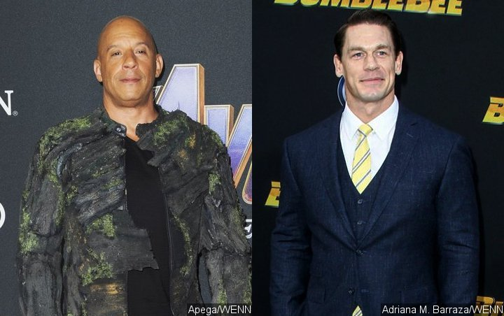 Vin Diesel Introduces John Cena as the New 'Soldier' for 'Fast and Furios 9'