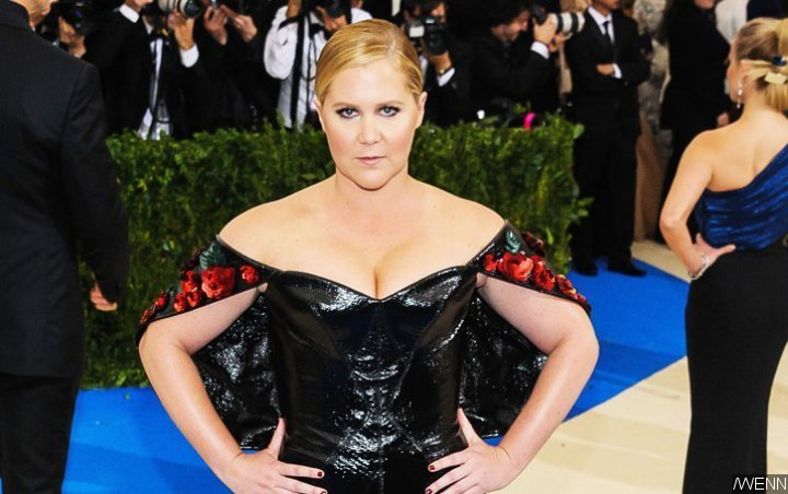 Amy Schumer Poses at Met Gala En Route to the Hospital to Give Birth