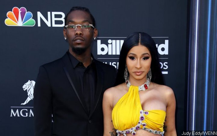 Cardi B Praises Offset 'Best Husband Ever' for Mother's Day Weekend Surprise