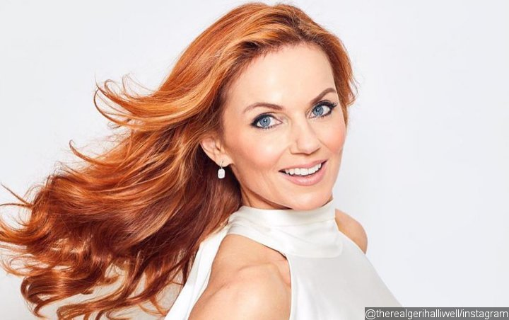 Geri Halliwell Shows Off Ginger Transformation Days Before Spice Girls Reunion Tour