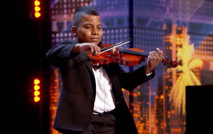 AGT's Simon Cowell praises 'extraordinary' 11-year-old cancer survivor violinist