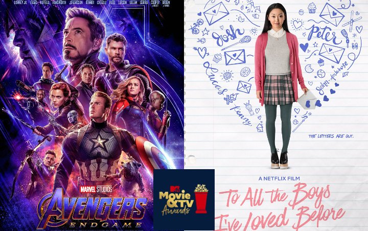MTV Movie and TV Awards 2019: 'Avengers: Endgame' and 'To All the