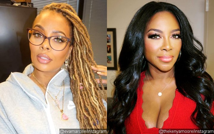 'RHOA': Eva Marcille Appears to Shade Kenya Moore With 'Ill-Fitting Wig' Comment