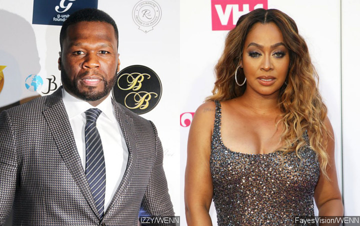 50 Cent Has Hilarious Reaction to La La Anthony Winning $68K at Casino