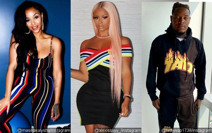 'LHH' Alum Masika Kalysha Shades Alexis Skyy for Showing Off Birthday Present From Fetty Wap