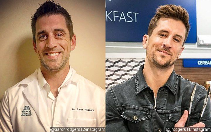 Aaron Rodgers and Brother Jordan Rodgers