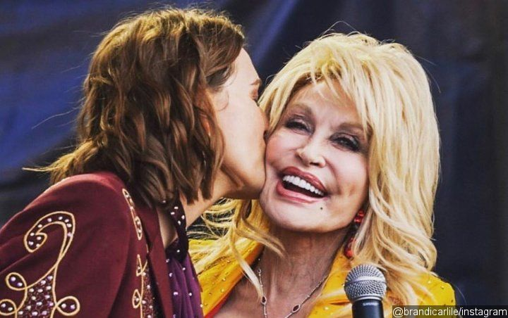 Dolly Parton Teams Up With Brandi Carlile for Surprise Performance at Newport Folk Festival