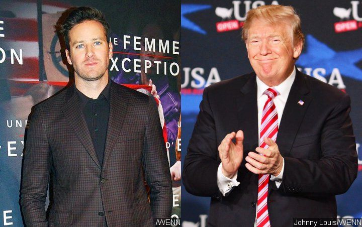 Armie Hammer Suggests Marvel Ban for Chairman's Support of Donald Trump