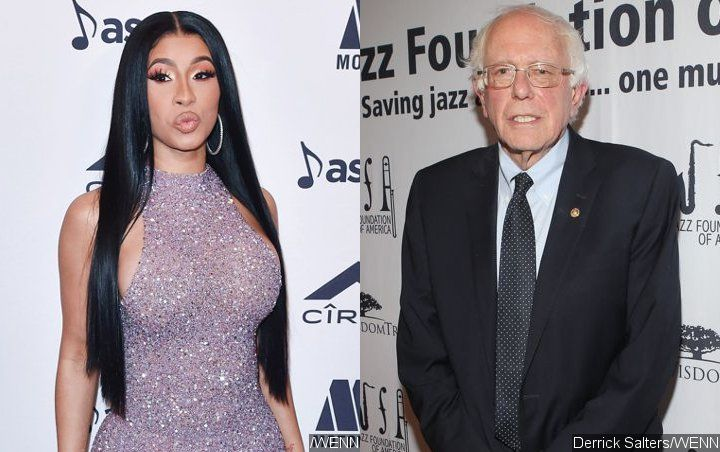 Cardi B Gets Serious With Bernie Sanders About Minimum Wage Increase