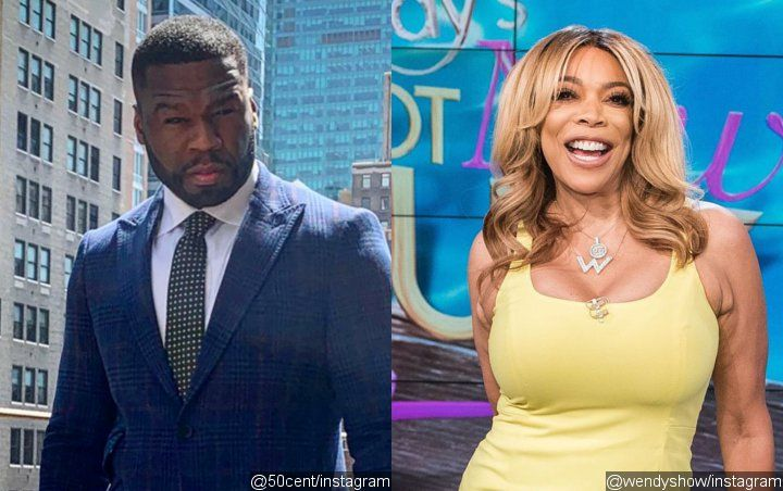 50 Cent Trolls Wendy Williams for Coming to His Party Despite Feud, Doesn't Let Her In