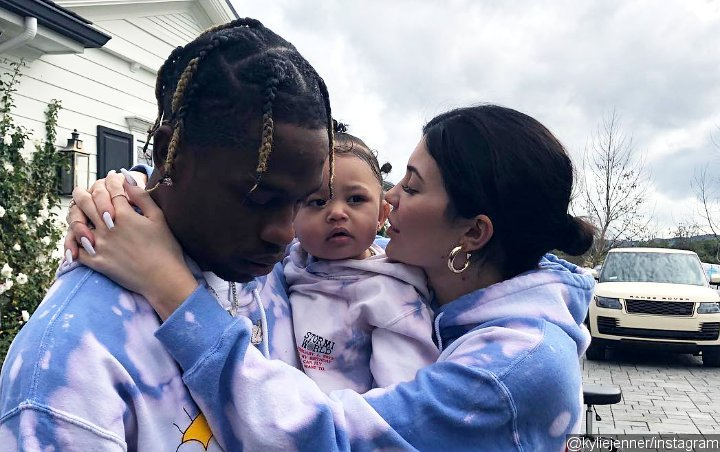 Kylie Jenner's Daughter Stormi Looks Adorable During Red Carpet Debut With Mom and Travis Scott