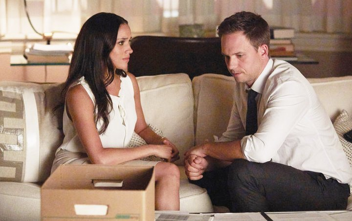 Patrick J. Adams Gives Away Never-Before-Seen Photos of Meghan Markle on 'Suits'