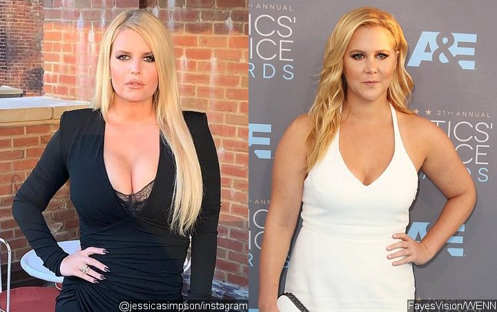 Jessica Simpson Praises Amy Schumer for Getting Real About Her Post-Baby Weight Loss
