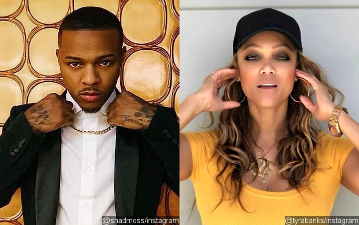 Bow Wow Called 'Pathetic' for Sharing Photo of Him Kissing Tyra Banks
