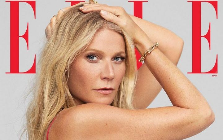 Gwyneth Paltrow Gets Topless for Elle Photoshoot