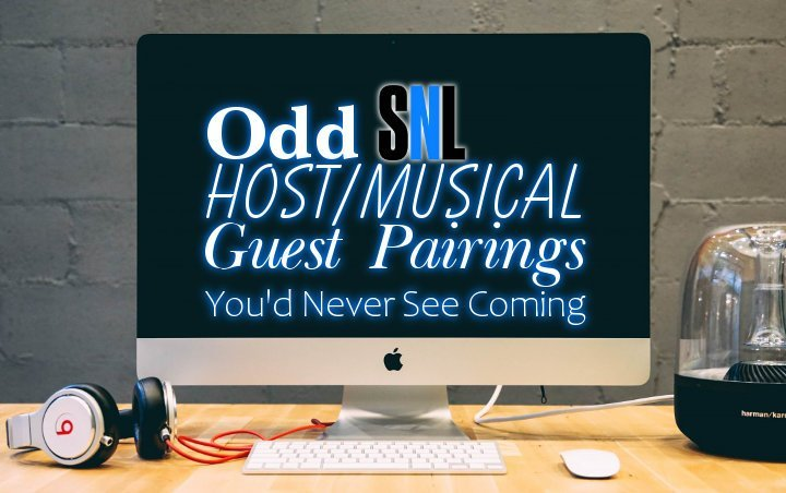 Odd 'SNL' Host/Musical Guest Pairings You'd Never See Coming