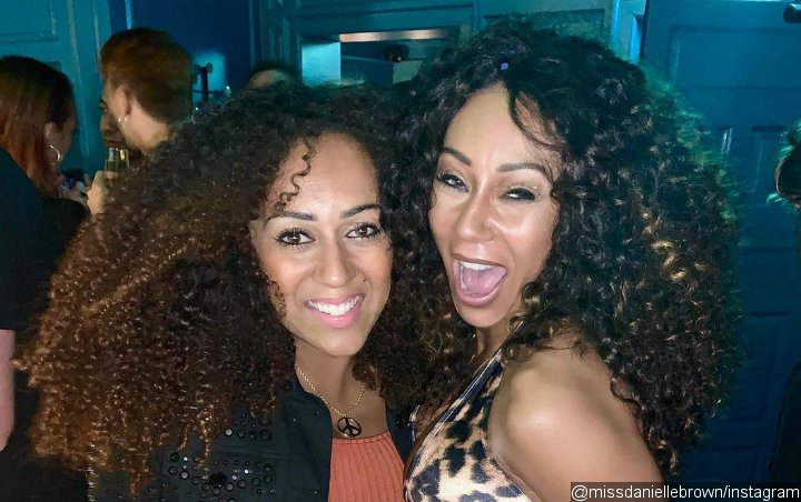 Mel B Enjoys Caribbean Holiday With Sister After Death of Great-Grandmother