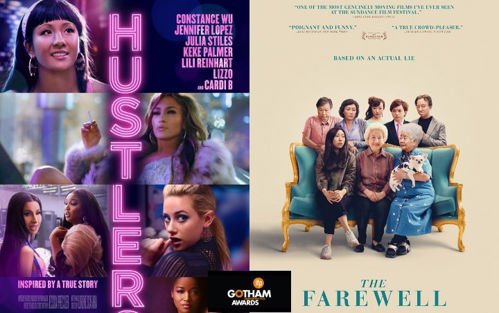 Gotham Awards 2019: 'Hustlers' Up for Best Feature, 'The Farewell' Leads Nominations