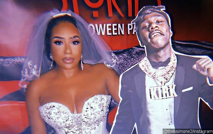 DaBaby Hilariously Reacts to B. Simone 'Marrying' Cardboard Cut-Out of Him