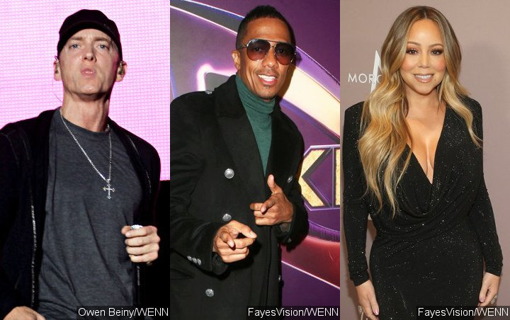 Hear Eminem's Savage Diss Against Nick Cannon and Mariah Carey on Fat Joe's 'Lord Above'
