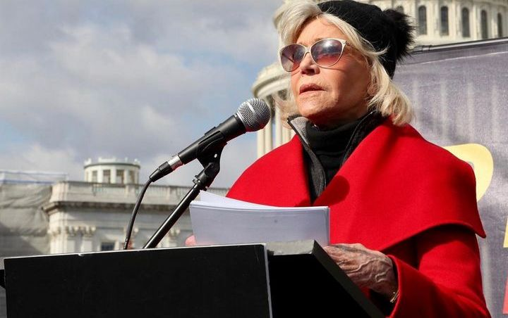 Jane Fonda is on her 11th climate crisis protest so far