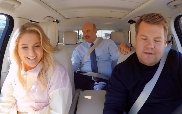 Meghan Trainor Hysterical Over Dr. Phil's Surprise Appearance During 'Carpool Karaoke'