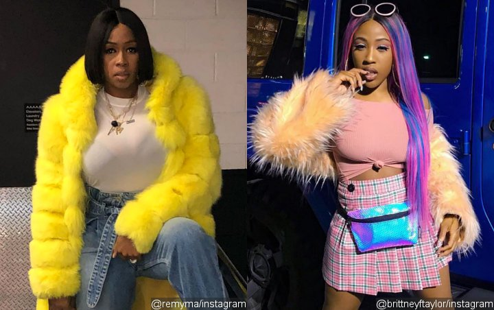Remy Ma Says Brittney Taylor Has 'Problems', Makes Fun of Her 'Deformation' Misspelling