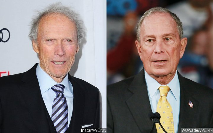 Clint Eastwood Backs Mike Bloomberg for 2020 Presidential Election