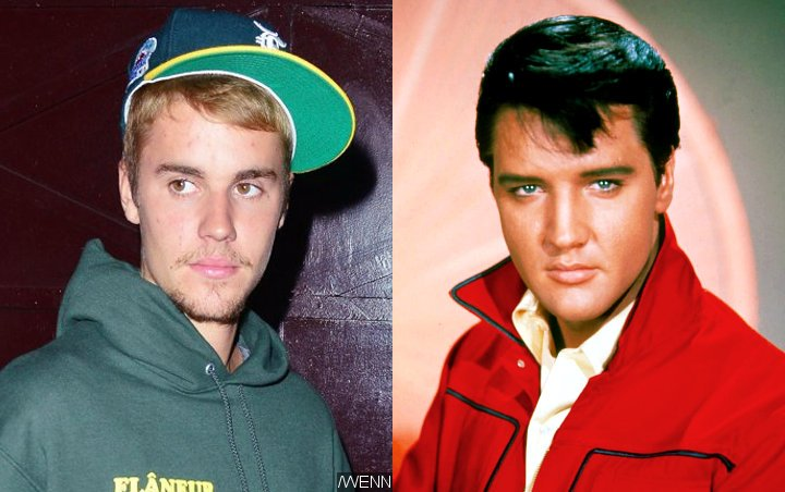 Justin Bieber Applauded by Elvis Presley Team for Breaking the King's Chart Record