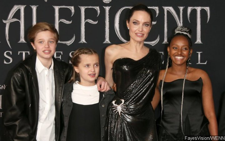 Angelina Jolie Proud of Daughters for Putting Each Other First After Two Underwent Surgery