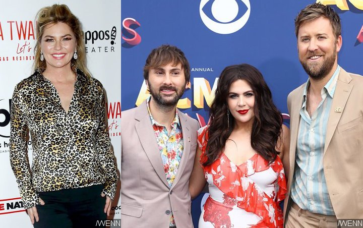 Shania Twain Licked by Horse, Lady Antebellum Joined by Their Kids in 'ACM Presents: Our Country'