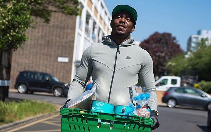 Dizzee Rascal Returns to Old Neighborhood to Serve Meals to Families and Children in Need