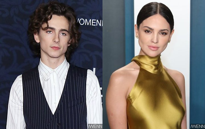 Timothee Chalamet And Eiza Gonzalez Further Fuel Dating Rumors With Bath Tub Pic