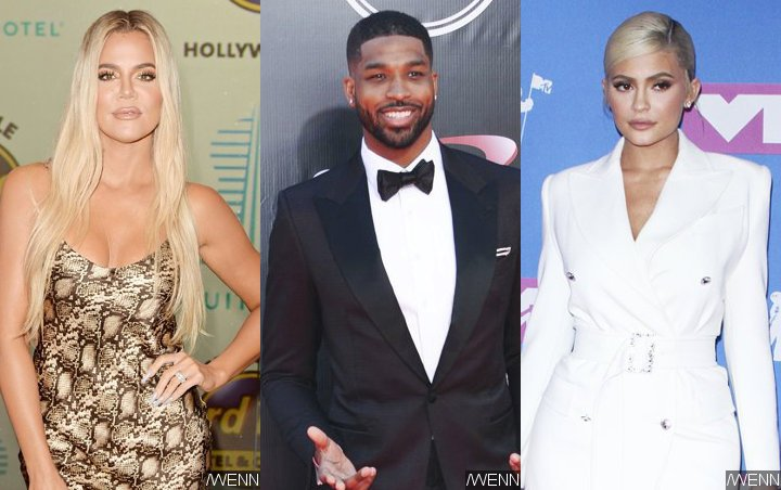 Pics: Khloe Kardashian and Tristan Thompson Board Kylie Jenner's Jet for Sister's Birthday Bash