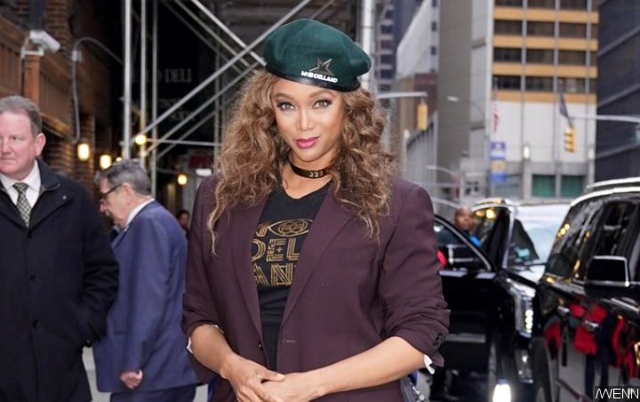 Tyra Banks' Huge Diamond Ring Sparks Louis Belanger-Martin Engagement Rumors