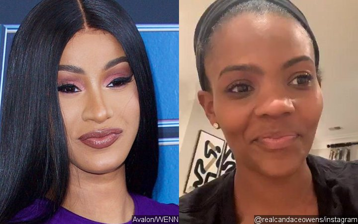 Cardi B and Candace Owens Beefing Online Over Political Views