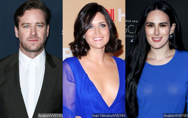 Armie Hammer Gets Handsy With Josh Lucas' Ex Amid Rumer Willis Dating Rumors