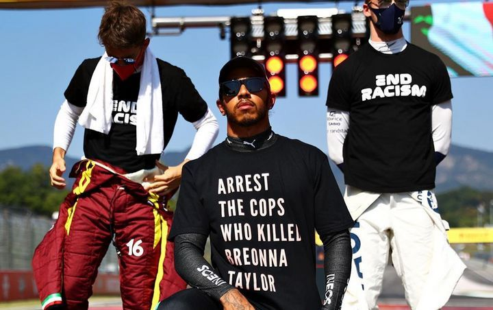 Lewis Hamilton Facing Hefty Fine for Wearing Breonna Taylor Tribute T-Shirt