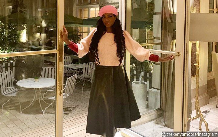Kenya Moore Shows Off Curvier Looks After Gaining 25 Pounds During Quarantine