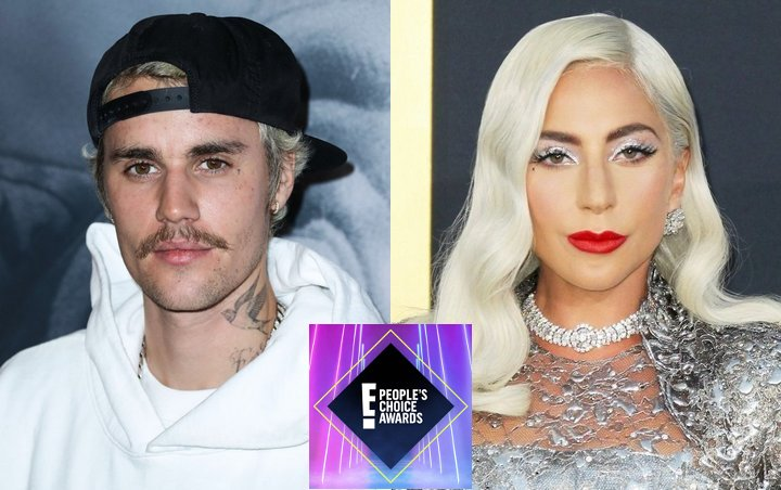 Justin Bieber and Lady GaGa Dominate 2020 People's Choice Awards Nominations