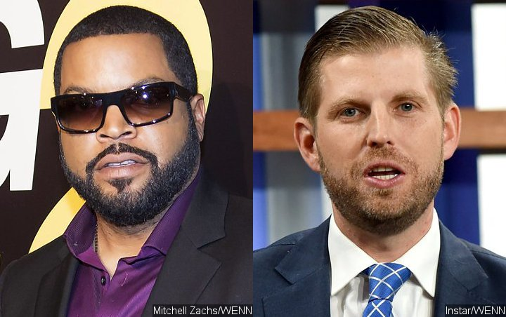 Ice Cube Rips Eric Trump Over Fake Photo of Him and 50 Cent Endorsing Donald Trump