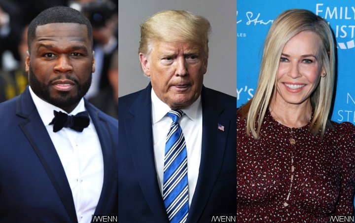 50 Cent No Longer Endorsing Donald Trump After Getting Called Out by Chelsea Handler