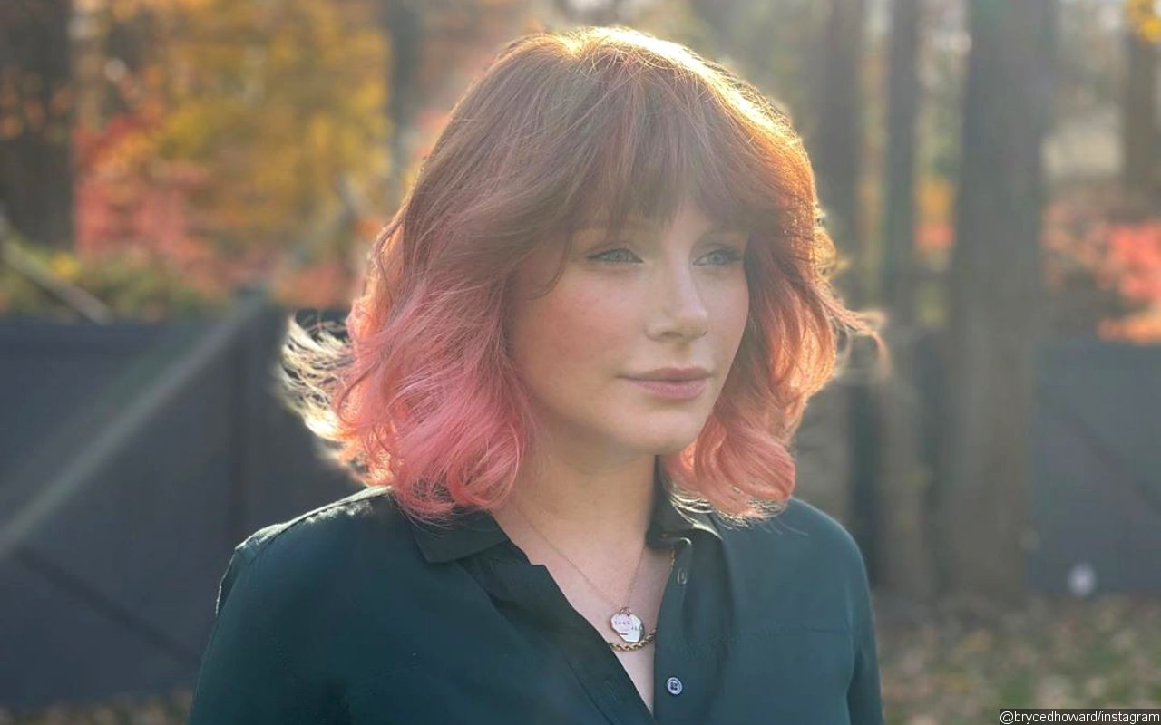 Bryce Dallas Howard Celebrates End of 'Jurassic World' Adventure With Pink Hair Transformation