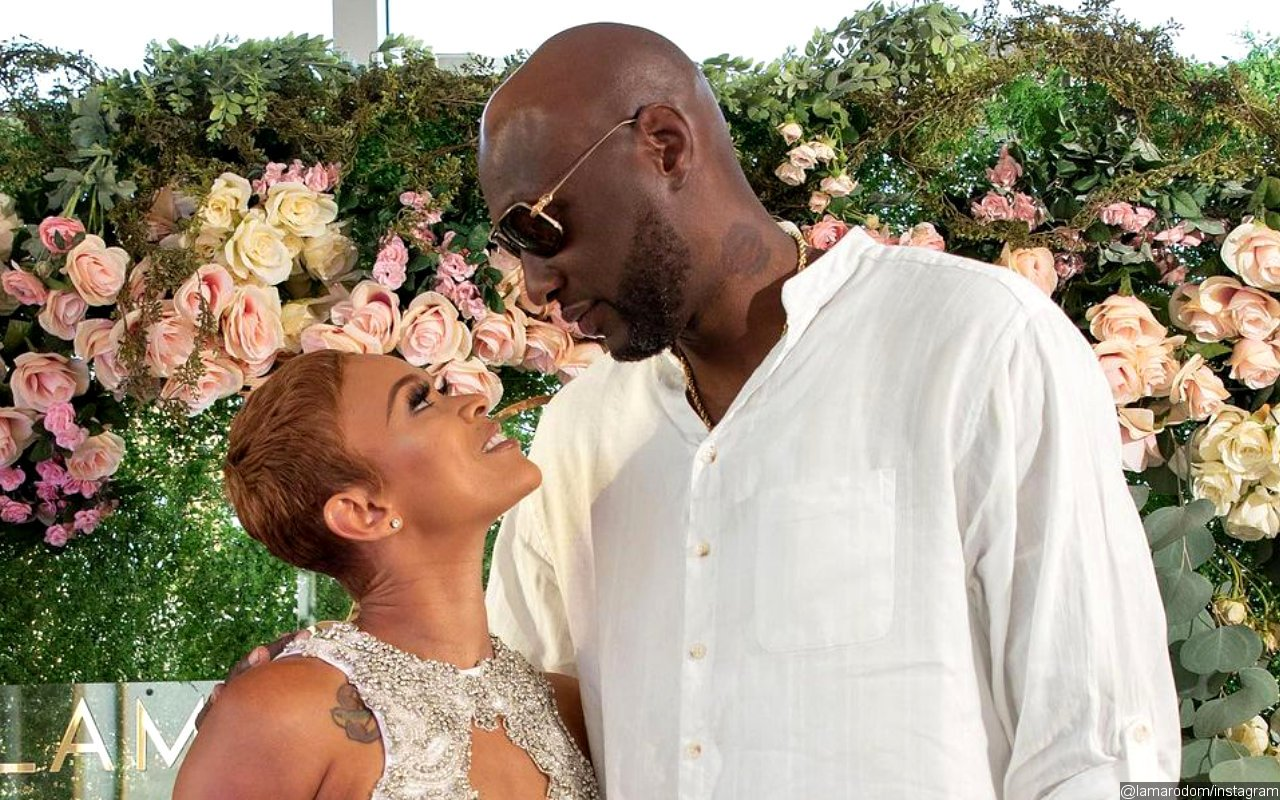 Back Together? Lamar Odom and Sabrina Parr Get Cozy While Celebrating 1-Year Engagement Anniversary