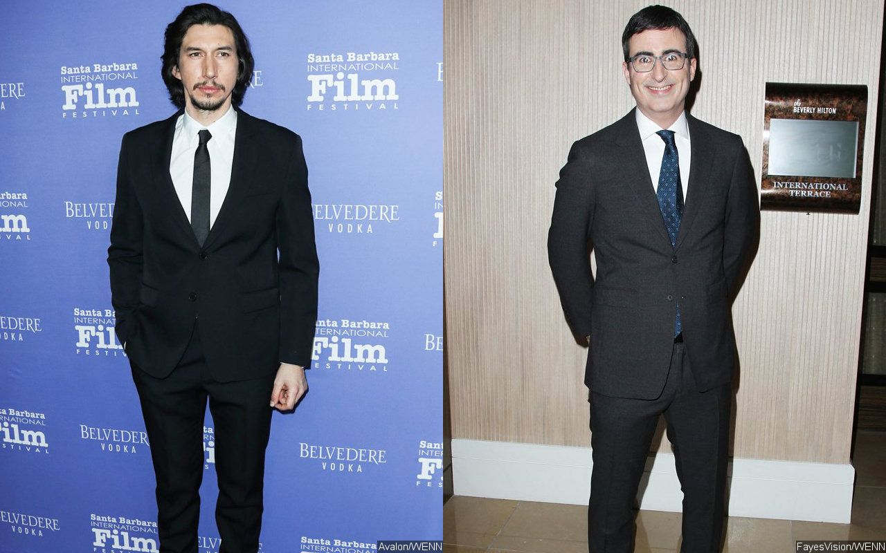 Adam Driver Accosts John Oliver for 'Strange' Obsession With Him in 'Last Week Tonight' Skit